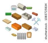 building material interior...   Shutterstock .eps vector #1083725834