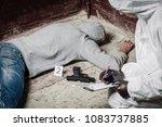 criminological expert...   Shutterstock . vector #1083737885