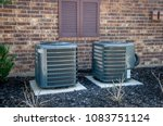 air conditioning units outside... | Shutterstock . vector #1083751124