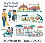 why should visit bangkok ...   Shutterstock .eps vector #1083769769