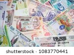 variety of the african banknotes | Shutterstock . vector #1083770441