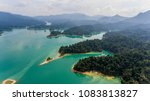 drone aerial shot  top view of...   Shutterstock . vector #1083813827
