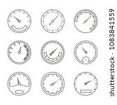 set of monochrome icons with... | Shutterstock .eps vector #1083841559