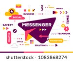 vector creative color... | Shutterstock .eps vector #1083868274