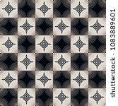 seamless geometric pattern...   Shutterstock . vector #1083889601
