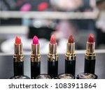 red libby cosmetics   Shutterstock . vector #1083911864