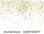 golden confetti isolated on... | Shutterstock .eps vector #1083928697