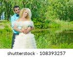 bride and groom. wedding | Shutterstock . vector #108393257