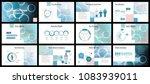 business presentation templates.... | Shutterstock .eps vector #1083939011