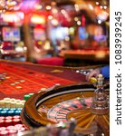 abstract blurred casino... | Shutterstock . vector #1083939245