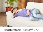 relaxing at home | Shutterstock . vector #108394277