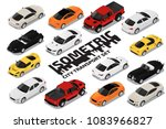 vector isometric high quality... | Shutterstock .eps vector #1083966827