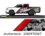 pickup truck livery graphic...
