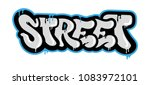 "decorative inscription ""street"" ... 