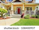 front porch of the american... | Shutterstock . vector #108400937