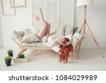 waking up in the morning is... | Shutterstock . vector #1084029989
