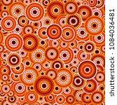 australian aboriginal seamless... | Shutterstock .eps vector #1084036481