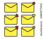 set e mail message envelope...