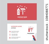shave business card design... | Shutterstock .eps vector #1084088771