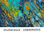 colorful and abstract acrylic...   Shutterstock . vector #1084090595