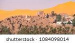 panoramic view of ksar of... | Shutterstock . vector #1084098014