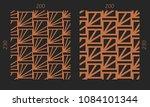 laser cutting interior set.... | Shutterstock .eps vector #1084101344