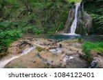 gostilje waterfalls in zlatibor ... | Shutterstock . vector #1084122401