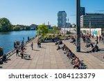 berlin  germany   may  2018  ... | Shutterstock . vector #1084123379