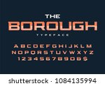 the borough trendy retro... | Shutterstock .eps vector #1084135994
