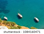 mediterranean coastline in...   Shutterstock . vector #1084160471