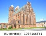 Medieval St. Mary Church in Prenzlau, Brandenburg, Germany
