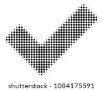 pixelated black yes icon....