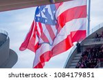 madrid   may 3  giant atletico... | Shutterstock . vector #1084179851