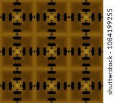 golden seamless pattern with... | Shutterstock . vector #1084199255