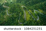 top view of the road on the... | Shutterstock . vector #1084251251
