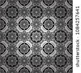 abstract gray  black and white... | Shutterstock .eps vector #1084257641