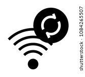wifi reload vector glyphs icon