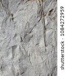 rough gray flat granite wall... | Shutterstock . vector #1084272959