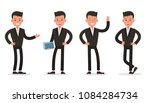 business people character... | Shutterstock .eps vector #1084284734