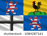 flag of wartburgkreis is a... | Shutterstock . vector #1084287161