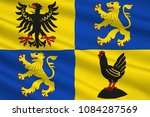 flag of ilm kreis is a district ... | Shutterstock . vector #1084287569