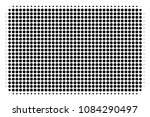 dotted black filled rectangle... | Shutterstock .eps vector #1084290497
