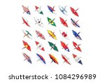 origami for kids   25 different ... | Shutterstock . vector #1084296989