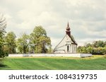 chapel of our mother god near... | Shutterstock . vector #1084319735