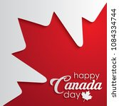 Happy Canada Day Calligraphy...