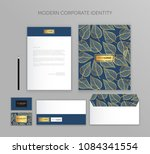 corporate identity business set.... | Shutterstock .eps vector #1084341554