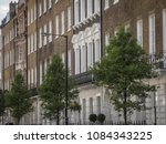 harley street buildings in... | Shutterstock . vector #1084343225
