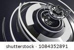 3d render of a sports trophy... | Shutterstock . vector #1084352891