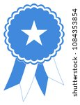 somalia award ribbon vector in... | Shutterstock .eps vector #1084353854
