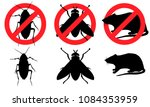 Cockroach, fly, rat. Pest control. Cockroaches (beetles), flies, rats (mice). Destruction of parasites. Insects pests, rodents